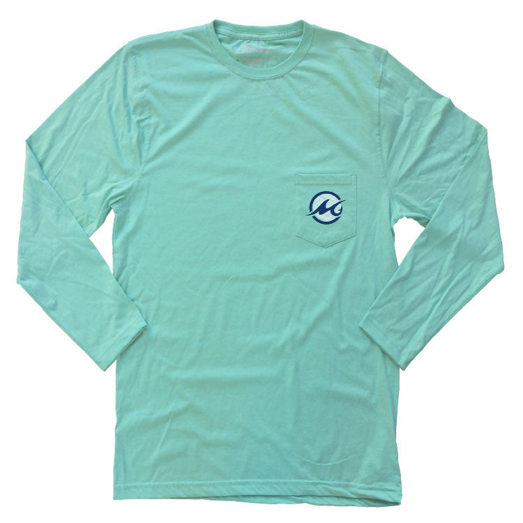 Long Sleeve Watermark Logo T-Shirt