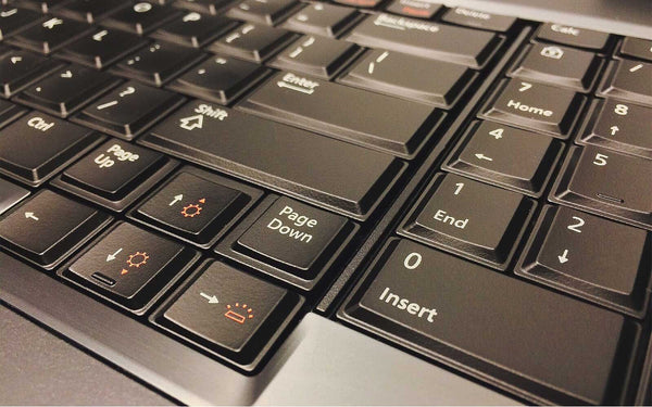 Laptop Keyboard Layout Identification Guide