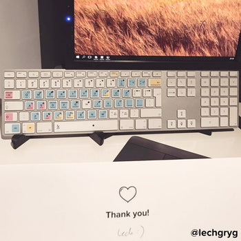 Adobe Photoshop editing keyboard stickers