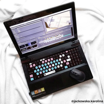 Adobe Premiere Pro editing keyboard stickers 2