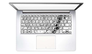 Laptop Keyboard Decals