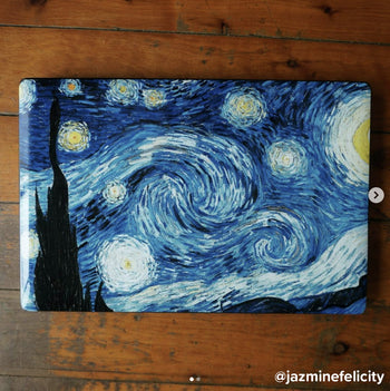 Van Gogh Starry Night laptop skin