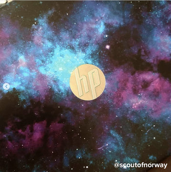 Sleepy galaxy laptop skin