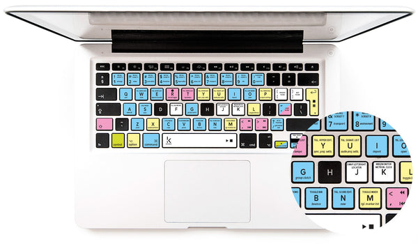 Keyboard stickers for Logic Pro