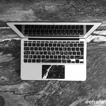 Brani marble MacBook trackpad stickers
