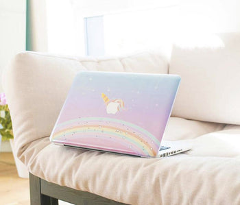 Unicorn rainbow MacBook skin