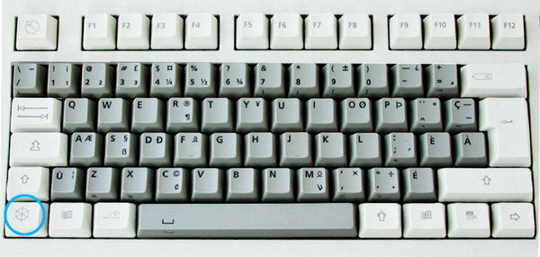 Canadian ACNOR keyboard