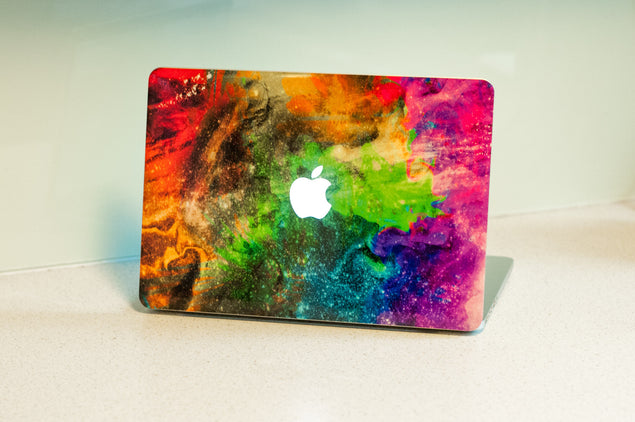 Holi MacBook Skin at Keyshorts.com - 3