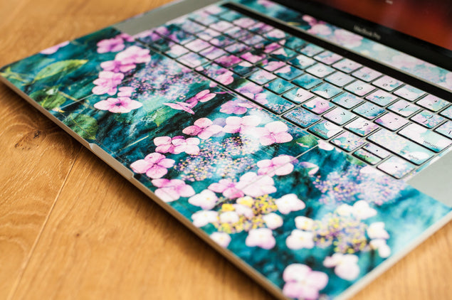 Botanica Punk MacBook Around Keyboard Skin