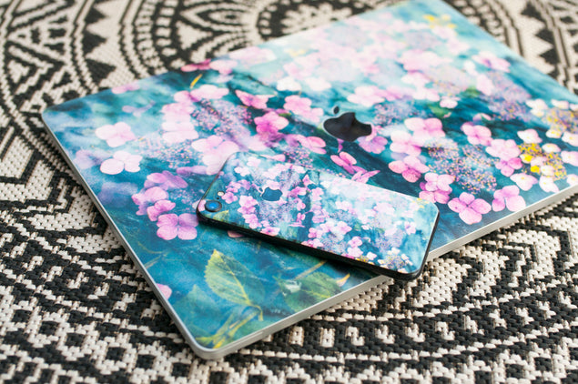 Botanica Punk MacBook Skin