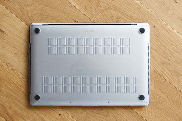 Clear MacBook Case for MacBook Air 11 bottom