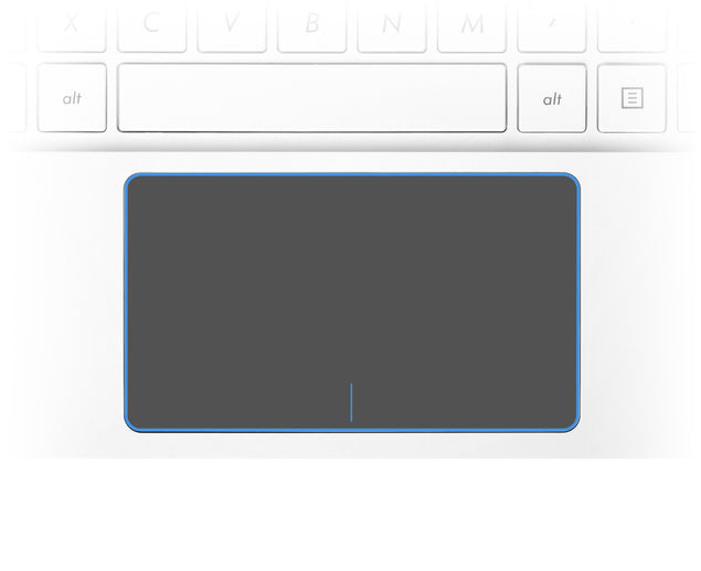 Blue Frame Laptop Trackpad Sticker