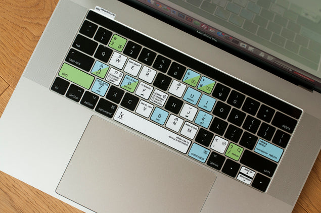 HelpScout Keyboard Shortcuts Stickers desktop