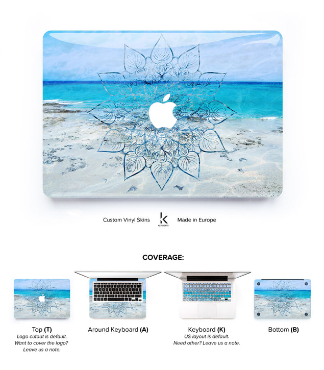 Just Breathe MacBook Skin