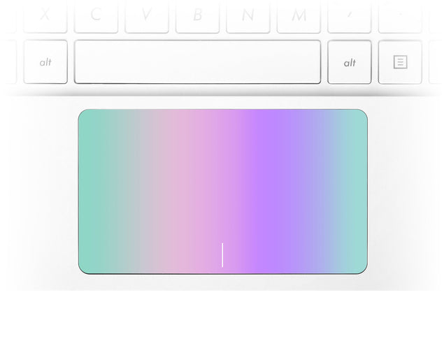 Kawaii Ombre Laptop Trackpad Sticker
