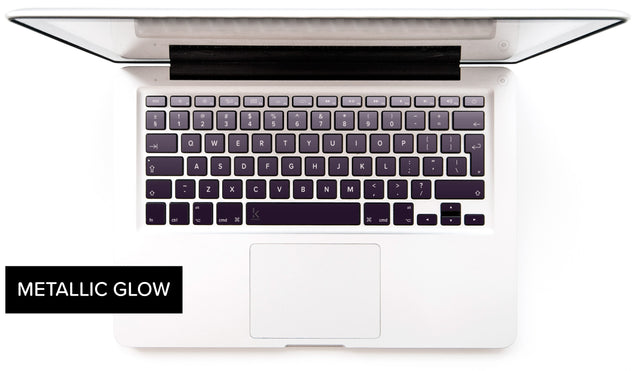 Orchid Gray Macbook Keyboard Decals