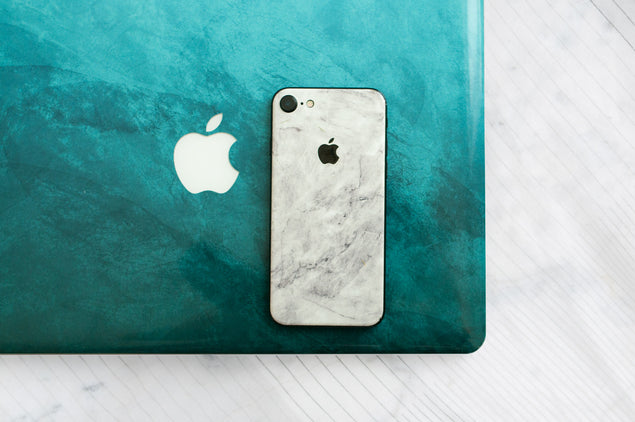 Designer White Marble iPhone Skin