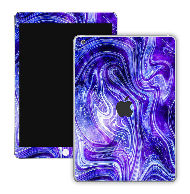 Purple World iPad Skin