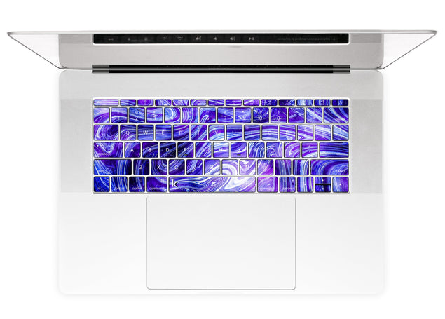 Purple World MacBook Keyboard Stickers alternate