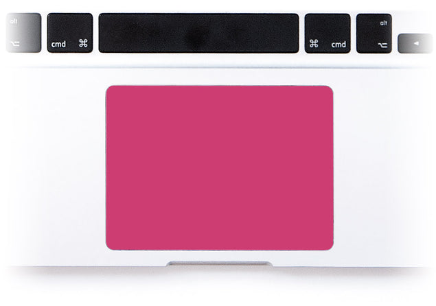 Raspberry MacBook trackpad sticker