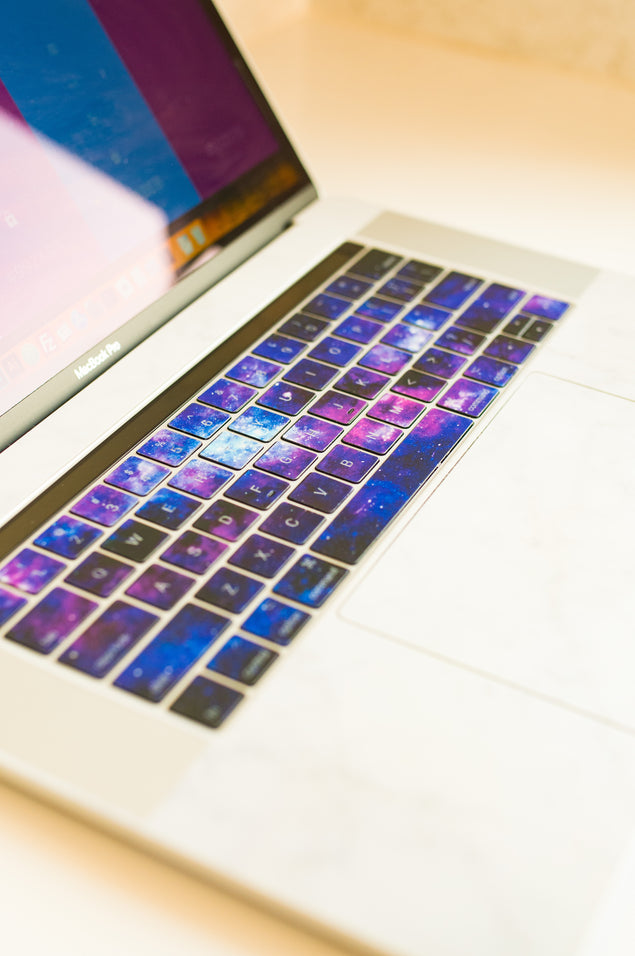Stardust Laptop Keyboard Decal