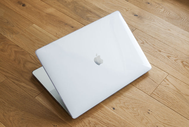 Clear MacBook Case for MacBook Air 13 angle
