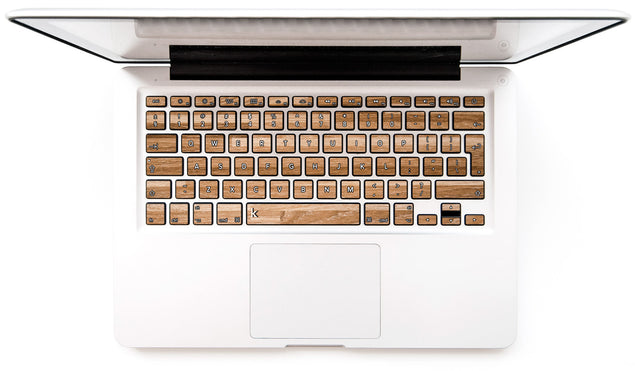Woody MacBook Keyboard Decal at Keyshorts.com