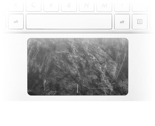 Achromatic Marble Laptop Trackpad Sticker