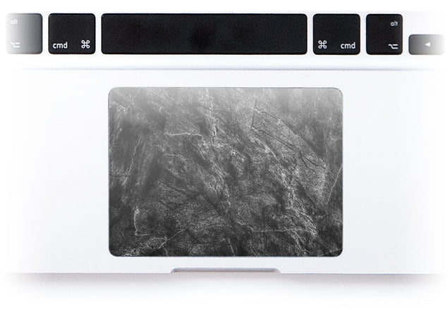 Achromatic Marble MacBook Trackpad Sticker alternate