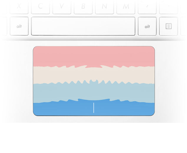 Acrylic Ombre Laptop Trackpad Sticker