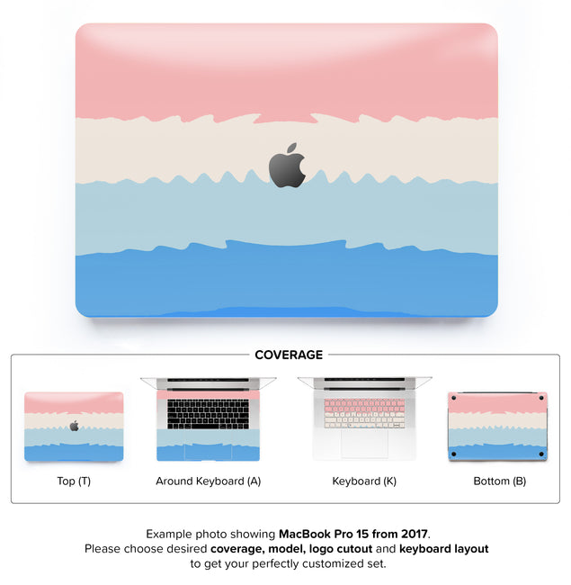 Acrylic Ombre MacBook Skin