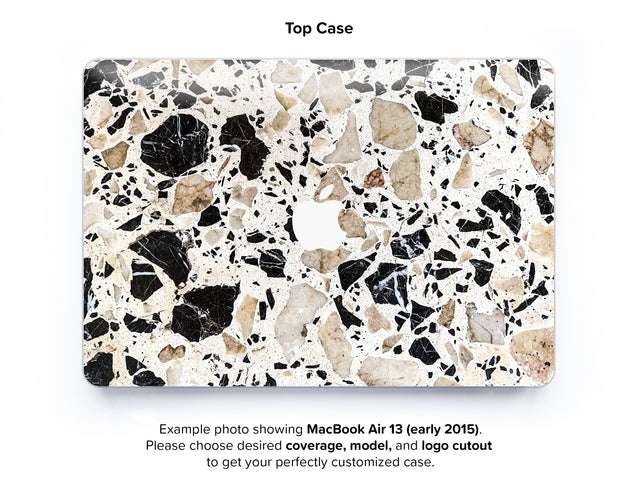 Alcudia Terrazzo Hard Case for MacBook Air 13 - top case