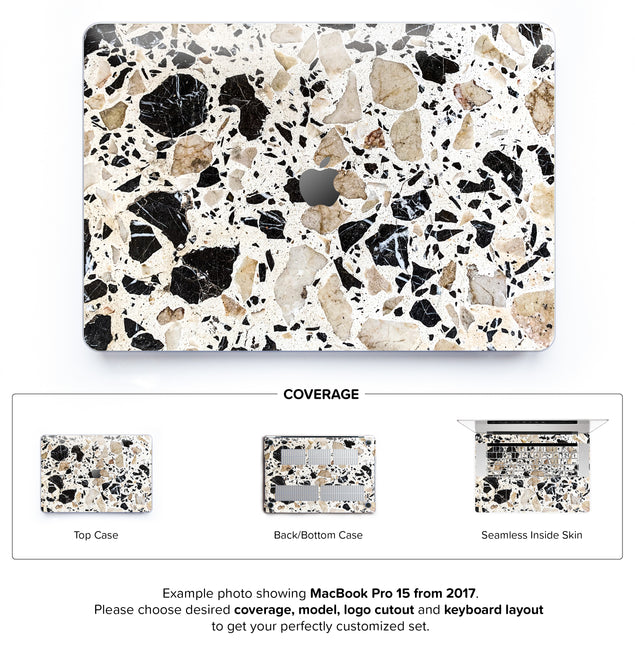 Alcudia Terrazzo Hard Case for MacBook Pro 15 with TouchBar