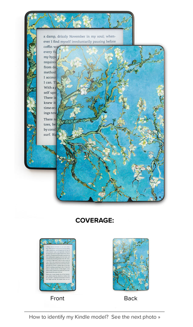 Blossoming Almonds Kindle Skin
