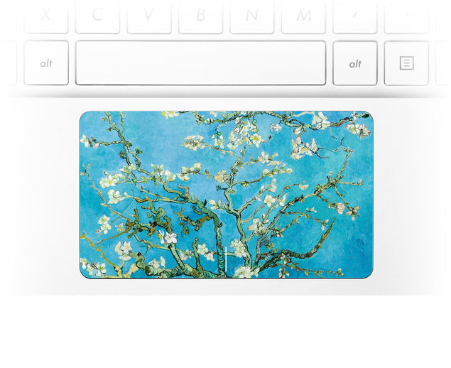 Blossoming Almonds Laptop Trackpad Sticker