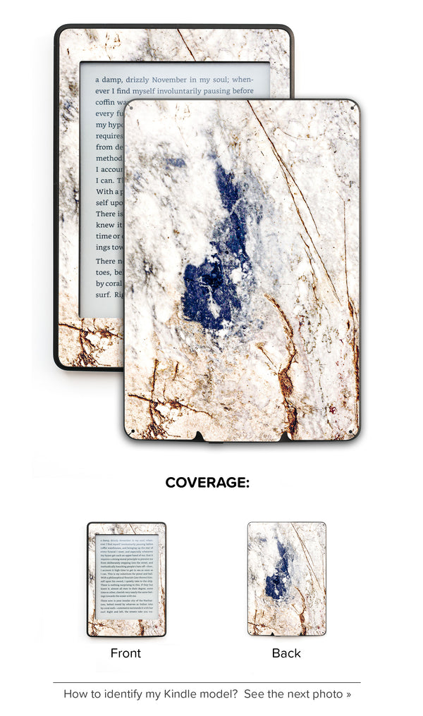 Amazing Marble Kindle Skin