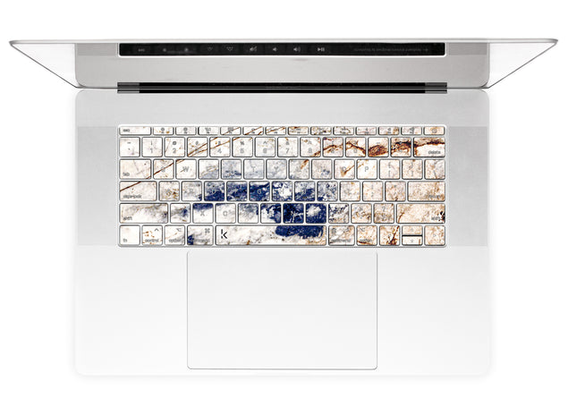 Amazing Marble MacBook Keyboard Stickers alternate