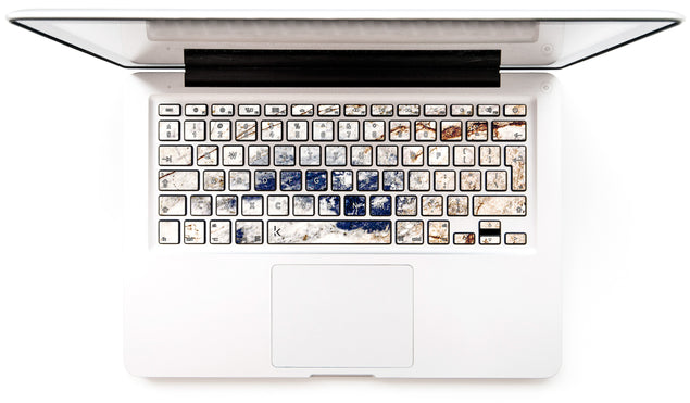 Amazing Marble MacBook Keyboard Stickers