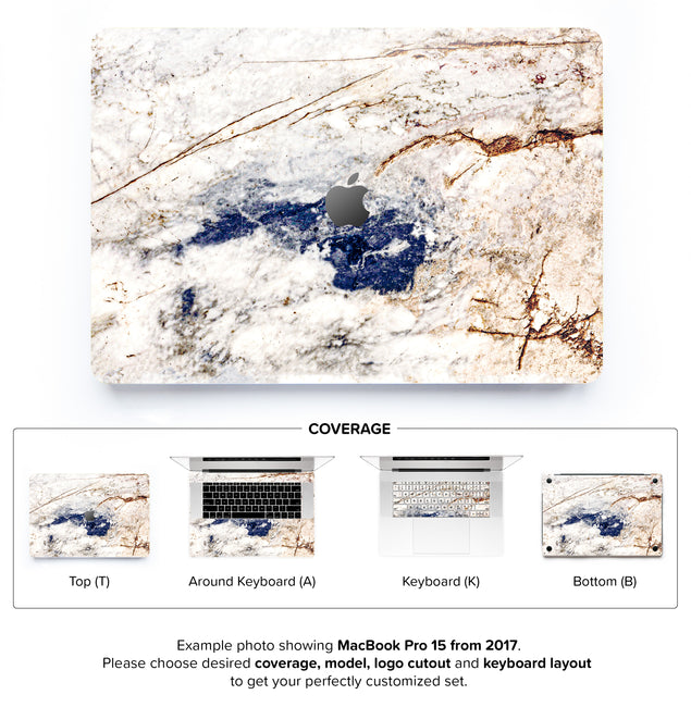 Amazing Marble MacBook Skin