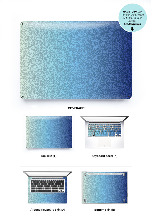Antique Ocean Laptop Skin