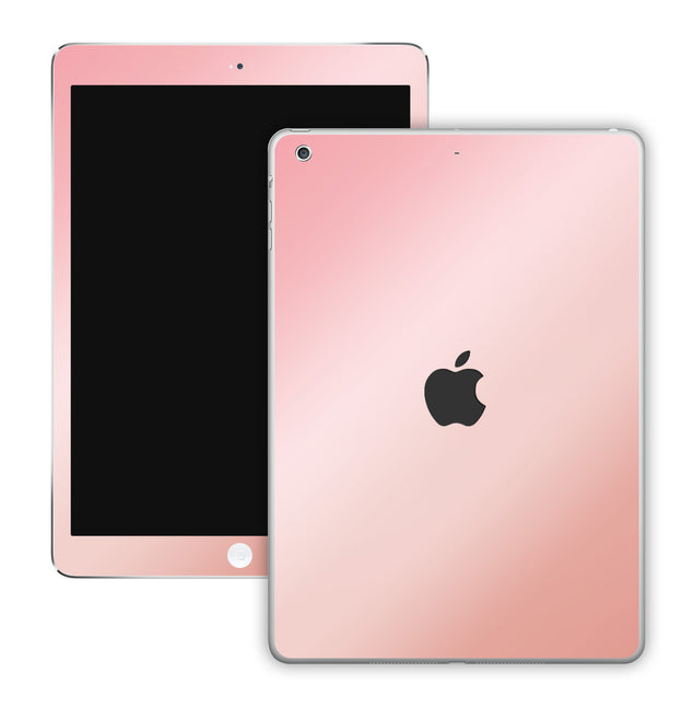 Antique pink ombre iPad Skin