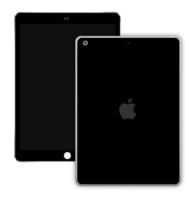 Simple Black iPad Skin