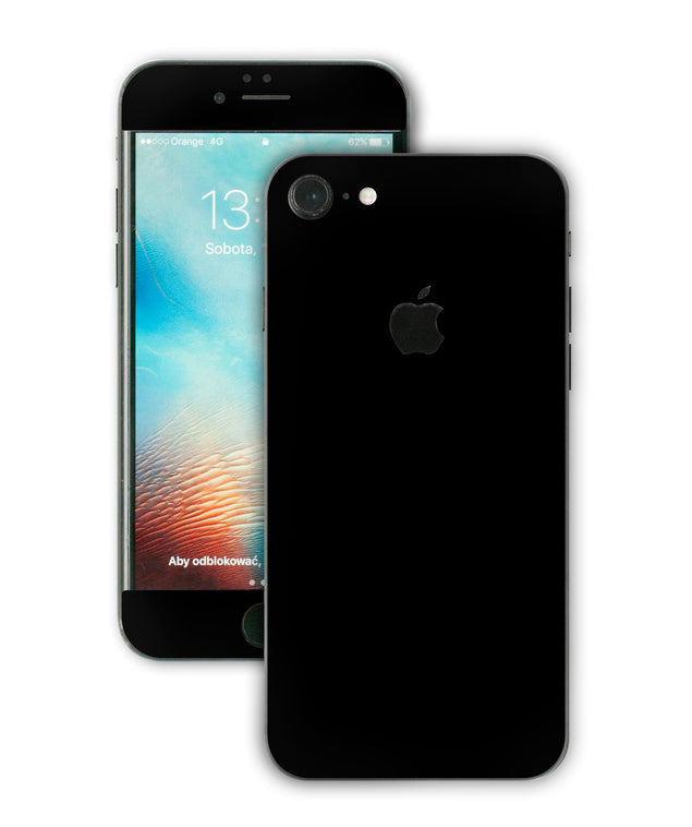 Simple Black iPhone Skin