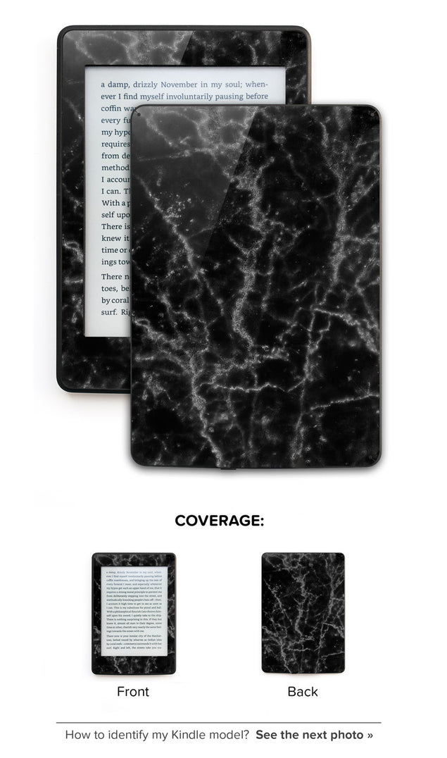 Black Marble Kindle Skin at Keyshorts.com