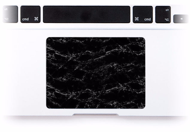 Black Marble by Anna MacBook Trackpad Sticker at Keyshorts.com