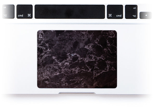 Black Style Marble MacBook Trackpad Sticker alternate