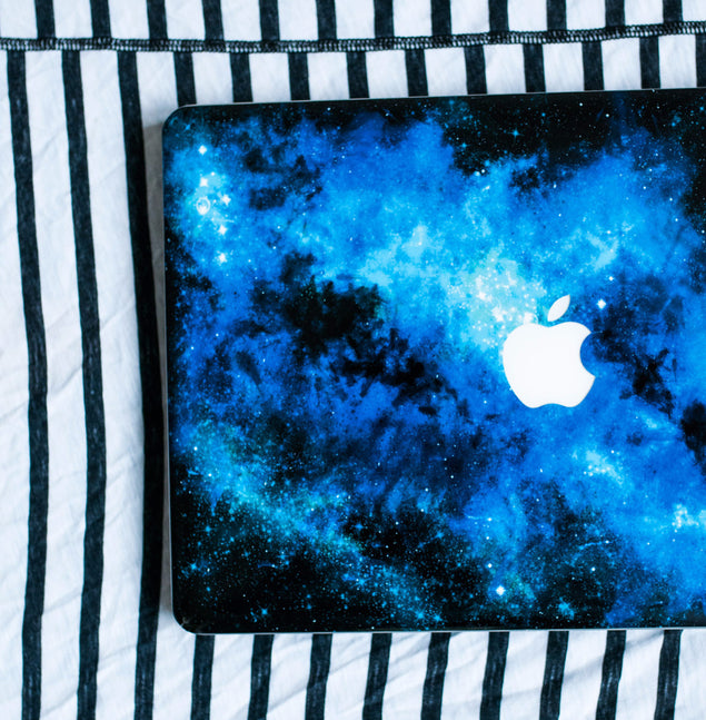 Blue Nebula MacBook Skin at Keyshorts.com - 2