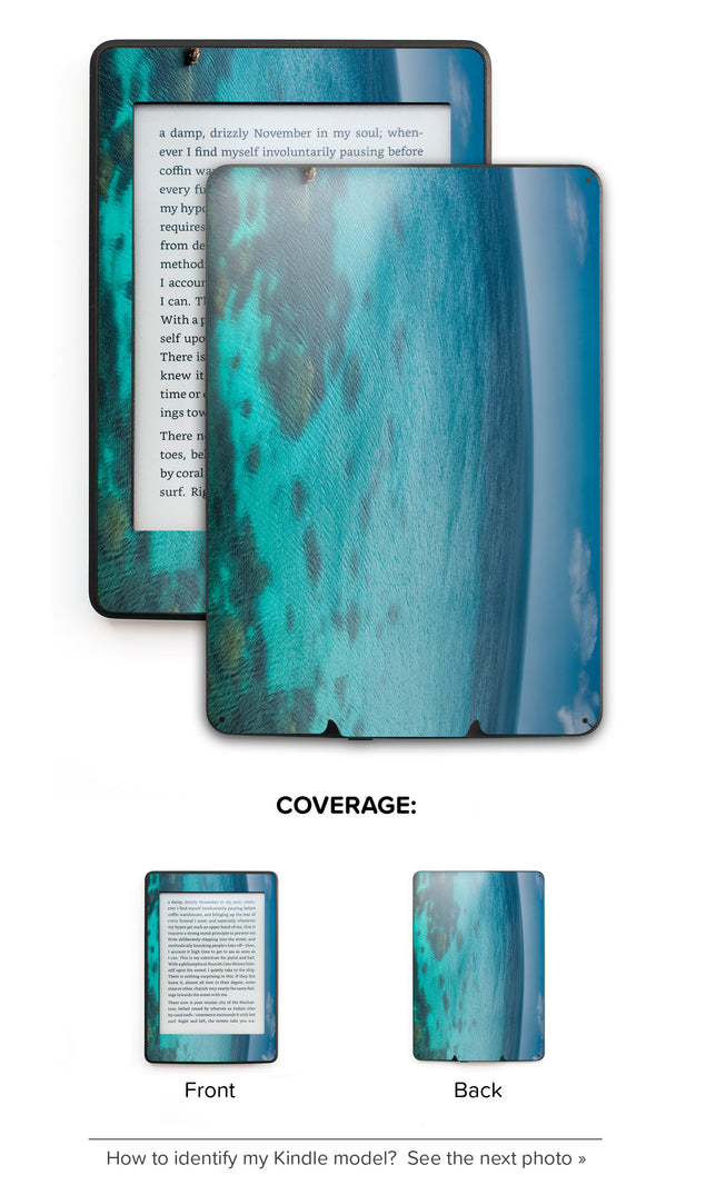 Blue Planet Kindle Skin