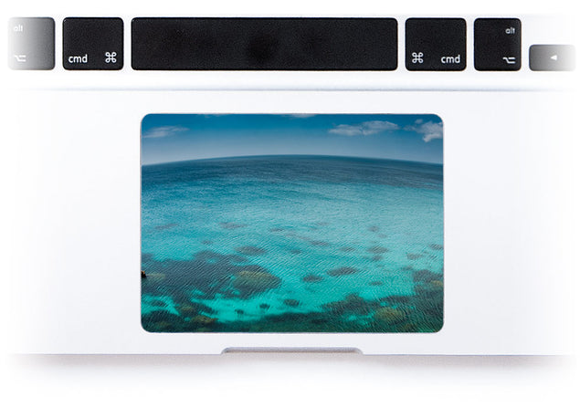 Blue Planet MacBook Trackpad Sticker alternate