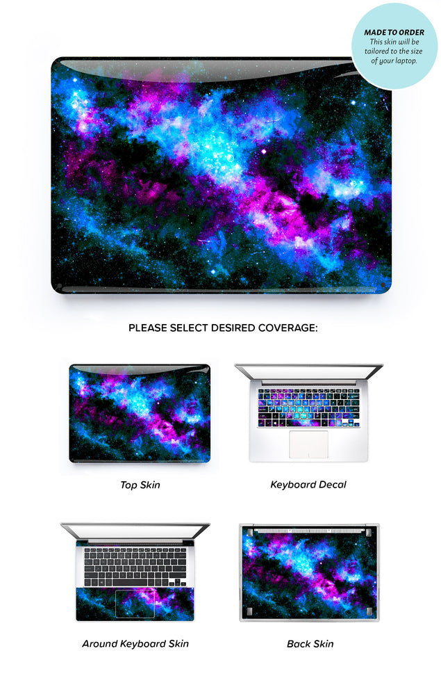 Bluedust Laptop Skin